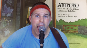 Abiyoyo (book reading/singing)