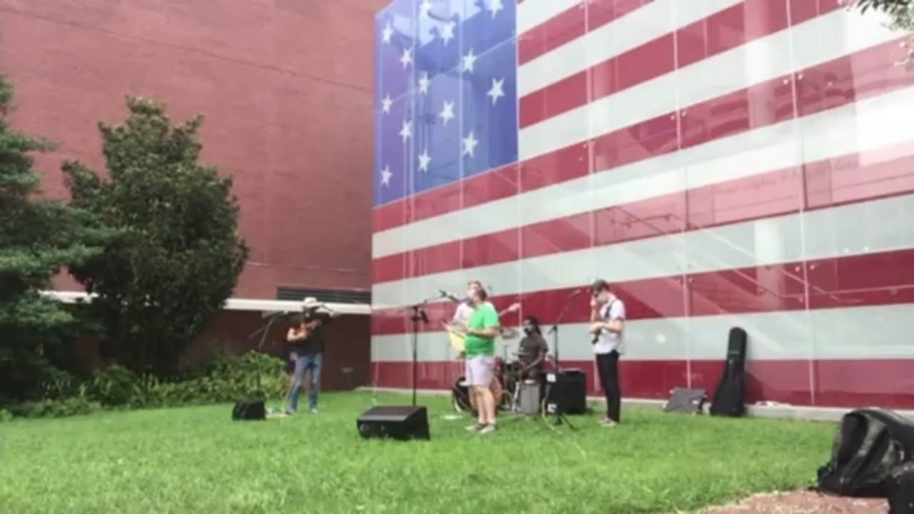 Live from the Star Spangled Banner Flag House featuring Turtle Dance Music and friends