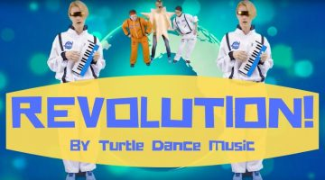 Turtle Dance Music - Revolution (Dance-A-Long)