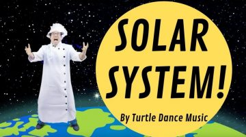 Turtle Dance Music - Solar System (Dance-A-Long)