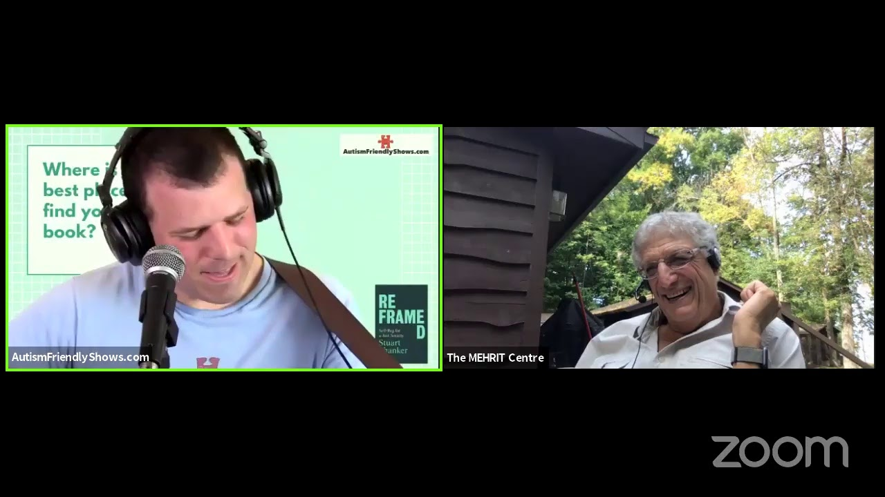 Education At Home Series featuring Dr. Stuart Shanker, Founder and CEO of the MEHRIT Centre