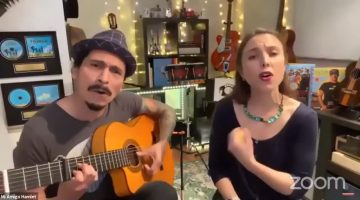 Live Kids Music with Alina Celeste and Mi Amigo Hamlet from Chicago, IL!