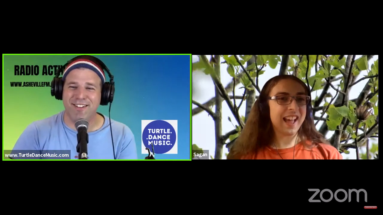 Interview with Sagan Thacker from Radio Active Kids!