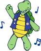 Turtle solo dance Logo.fw